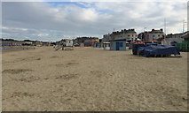 SY6879 : End of the day, Weymouth Beach by Robin Stott