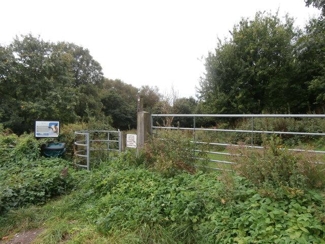 Entrance to Barlaston & Rough Close Common