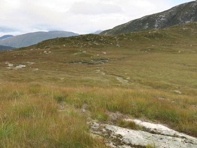 Moorland north of Beinn Trilleachan