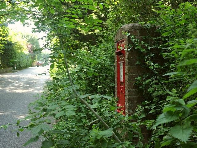 Postbox, Ilsham Road, Torquay