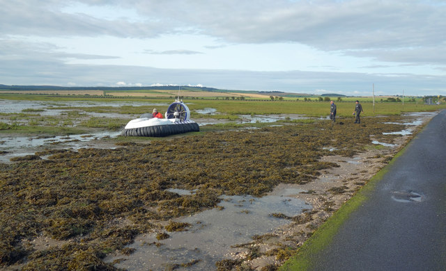 Hovercraft on the Mudflats