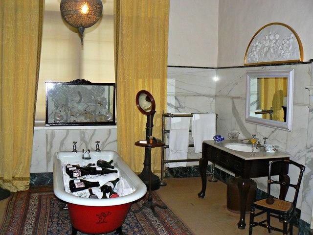 The 4th baron's bathroom, Tredegar House, Duffryn