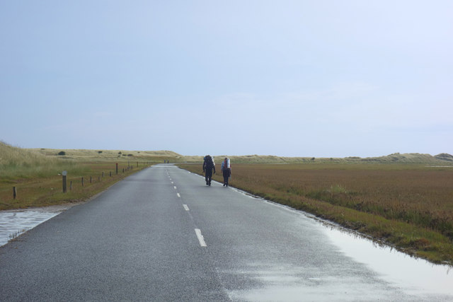 Walking to Lindisfarne
