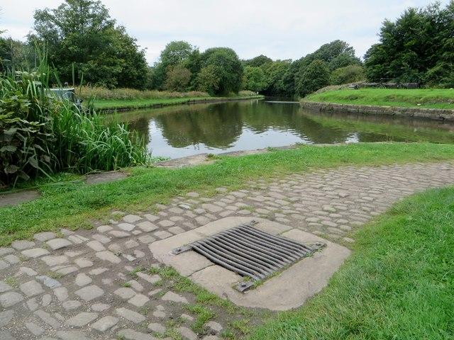 Basin at Dean Lock