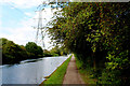 TQ3692 : River Lea Navigation just South of the William Girling Reservoir by Chris Heaton