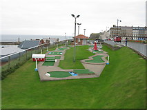 NZ8911 : Crazy Golf, West Cliff, Whitby by G Laird