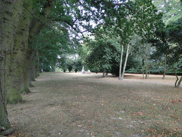 Cemetery in Memorial Way Norwich
