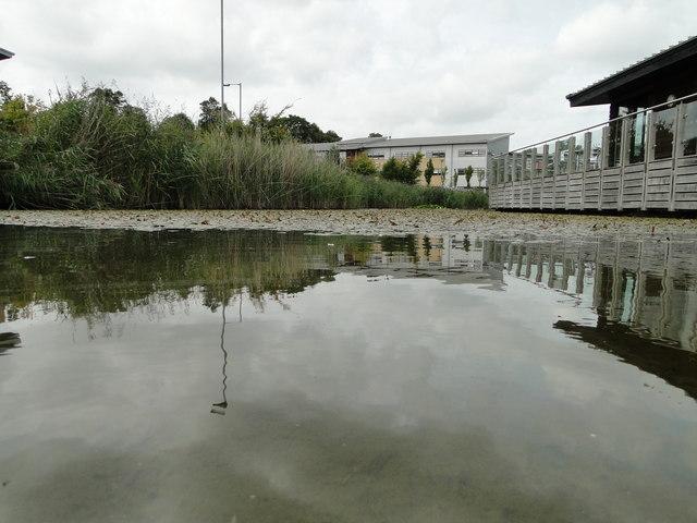 Lake on the Broadland Business Park
