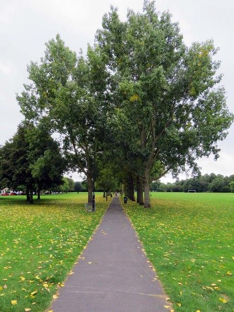Path across Wandsworth Common