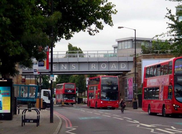 Queen's Road in Peckham