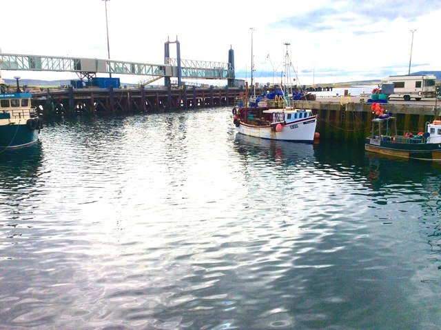 Stromness Harbour, Orkney Islands