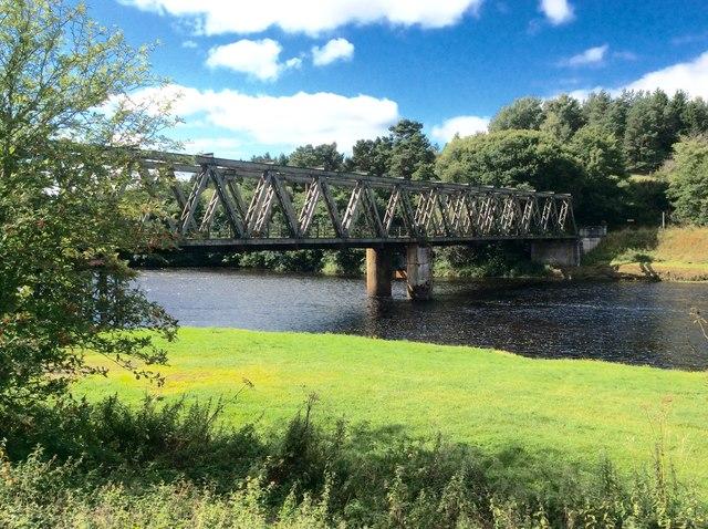 Bridge over the River Spey, Cromdale