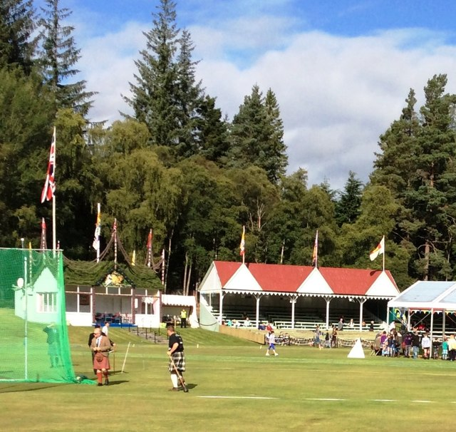 The Royal Pavilion and Stands, Braemar Memorial Park