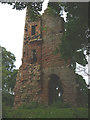 NY5541 : Ruined tower, Kirkoswald Castle by Karl and Ali