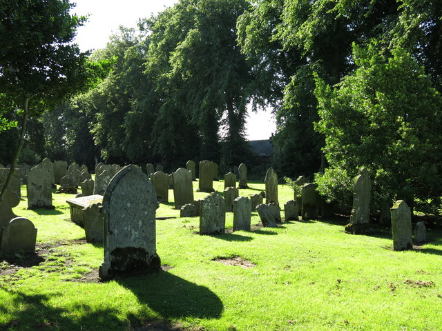 The Church of St. Mary, Town End - graveyard (2)