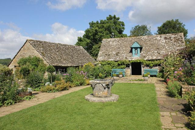 The garden at Snowshill Manor