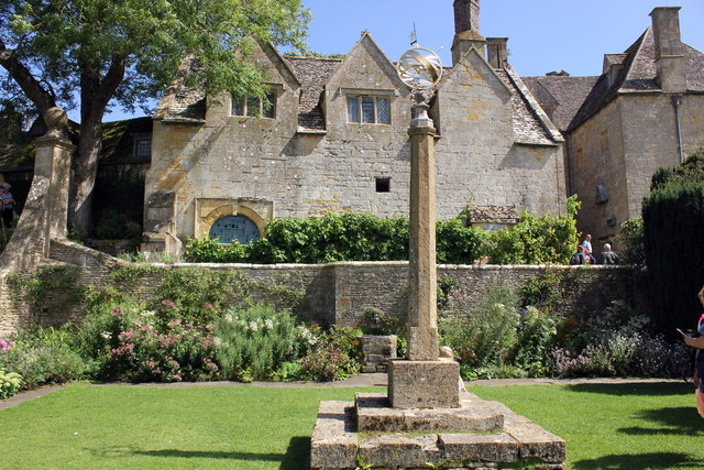 The Armillary Court at Snowshill Manor