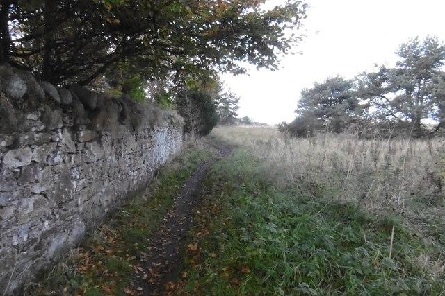 Path passing Invereil House