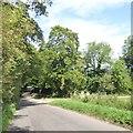 SP6339 : Approaching Blind Bridge, Biddlesden by David Smith