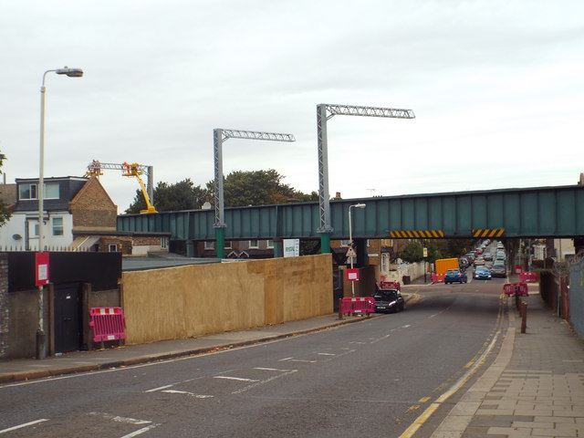 Bridge over Balmoral Road, near Forest Gate
