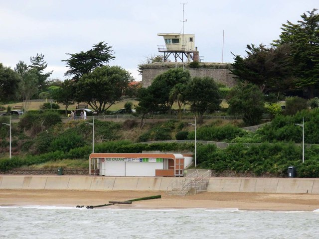 Lookout on a Martello Tower