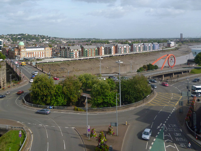 Old Green Roundabout, Newport (2017)