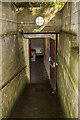 SZ0792 : Talbot Heath School for Girls, Bournemouth - WWII Air Raid Shelter (3) by Mike Searle