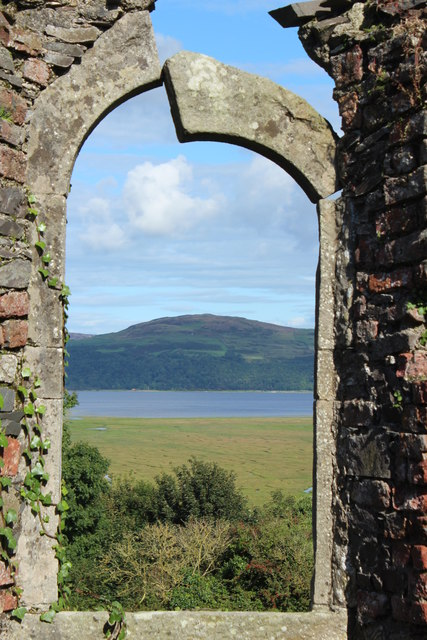 Window in Old Ruin, Wigtown