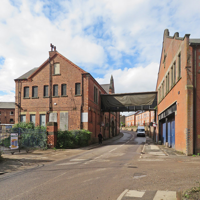 Kimberley: Hardy Street and parts of the former Kimberley Brewery