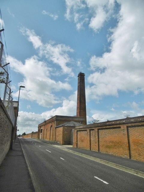Gosport, disused chimney
