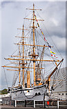 TQ7569 : HMS Gannet - September 2017 (2) by The Carlisle Kid