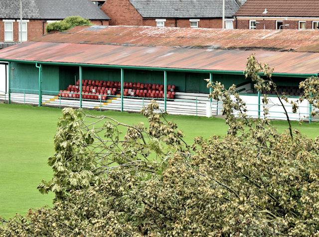 Wilgar Park football ground, Belfast - September 2017(2)
