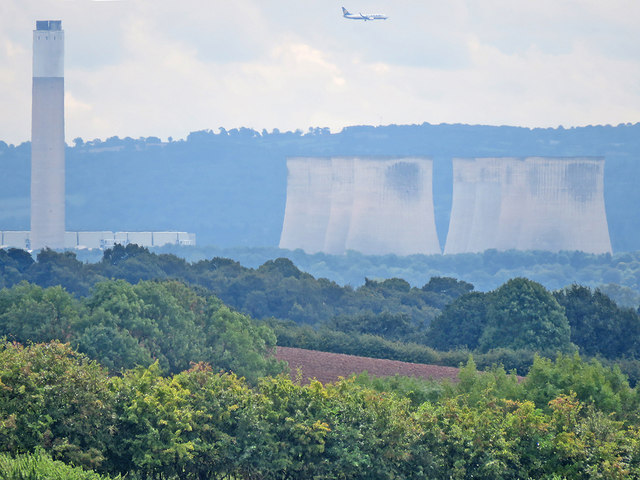 Ratcliffe-on-Soar Power Station from afar