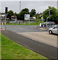SO1610 : Pelican crossing at the southern end of Beaufort Road, Ebbw Vale by Jaggery