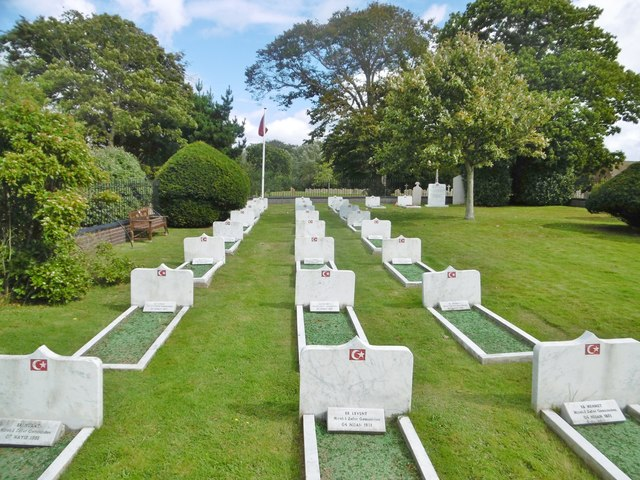 Alverstoke, Turkish cemetery