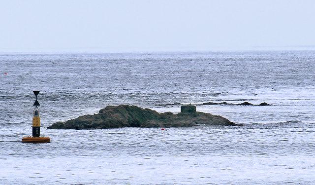 Plough Rock off Castle Point