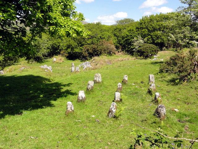 The Ruins of Hucken Tor Farm