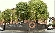 J3272 : Malone Exchange, Belfast - September 2017(1) by Albert Bridge