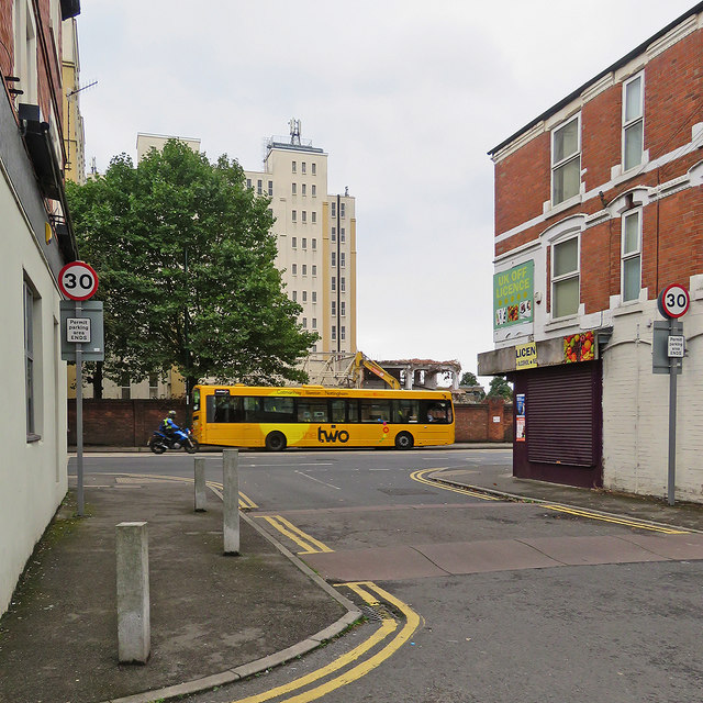 Radford: a changing view from Kennington Road