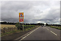 ST6856 : Approaching junction for Camerton Farm by John Firth
