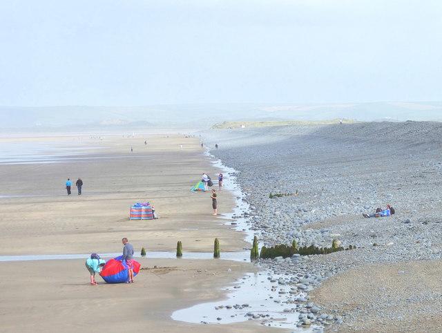 Beach Scene, Westward Ho