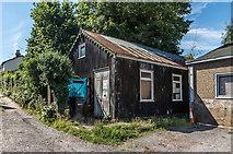 TQ1649 : Tin hut by Ian Capper