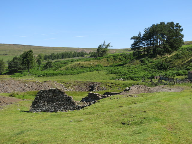 Ruined bouse teams below the Skears Hushes (2)