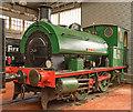 TQ7569 : Steam locomotive at Chatham Dockyard - September 2017 (1) by The Carlisle Kid