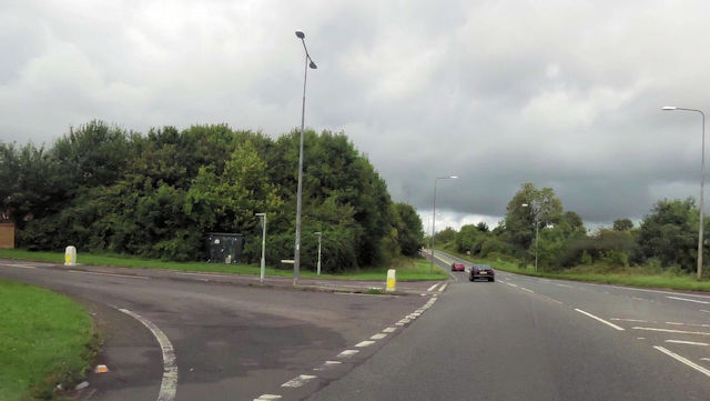 Orchard Way junction with Peasedown bypass
