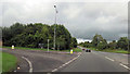 ST7157 : Orchard Way junction with Peasedown bypass by John Firth