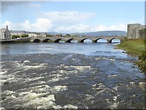 R5757 : Thomond Bridge and the River Shannon by Oliver Dixon