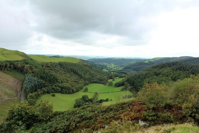 Dyffryn Melindwr valley
