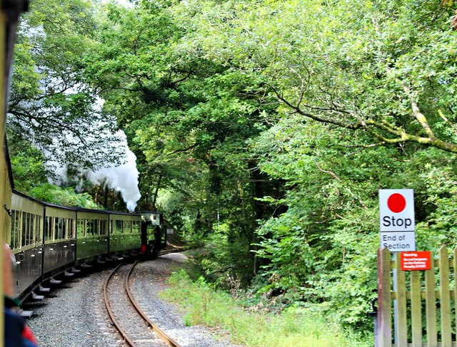 Leaving Aberffrwd station