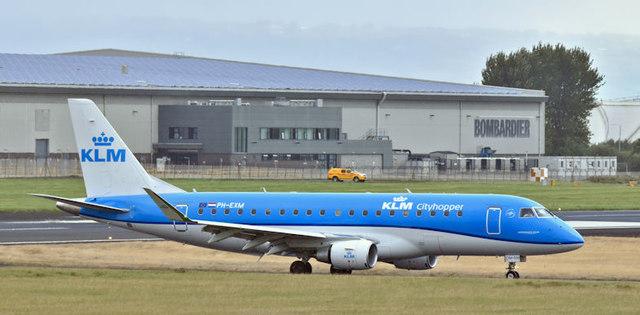 PH-EXM, Belfast City Airport (September 2017)